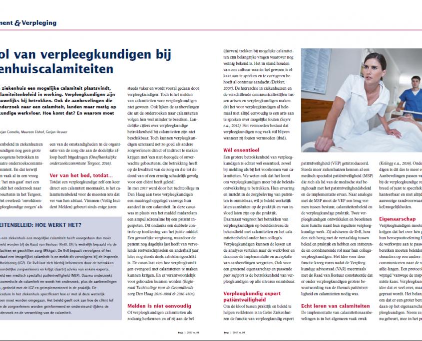 Artikel TvZ Verpleegkundigen